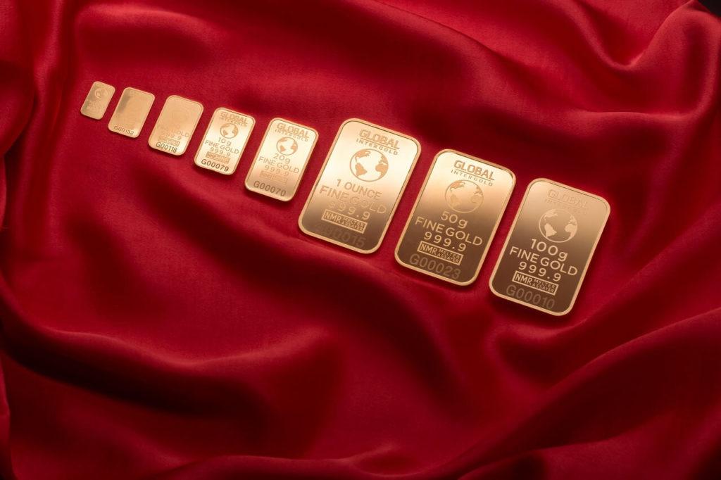 Zlaté investiční slitky